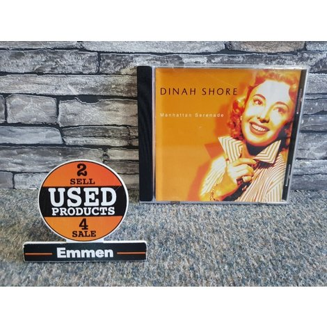 CD - Dinah Shore - Manhattan Serenade LATA121