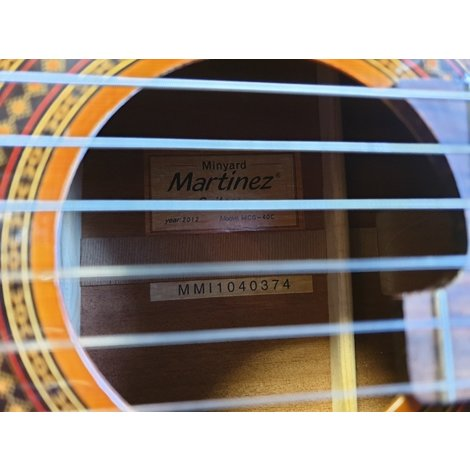 Martinez Minyard MCG-40C - Concert Gitaar