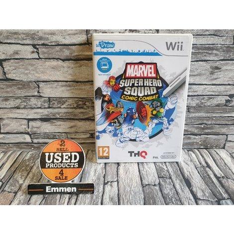 Wii - uDraw Marvel Super Hero Squad Comic Combat - Nintendo Wii Game