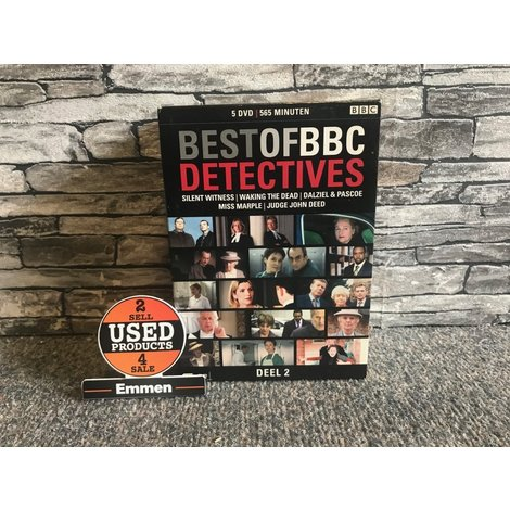 BBC Detectives DVD Box Deel 2