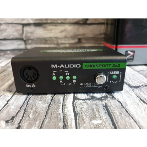 M-Audio Midisport 2x2 - USB Midi Interface