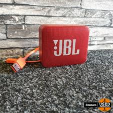JBL Go 2 - Rood