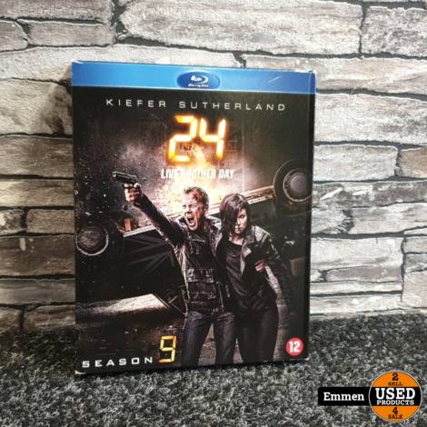 Blu-Ray - 24 - Live Another Day Seizoen 9