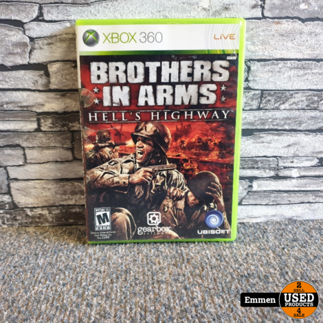 XBOX 360 - Brothers in Arms - Hell's Highway