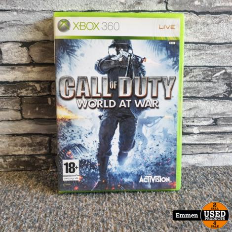 XBOX 360 - Call of Duty World at War