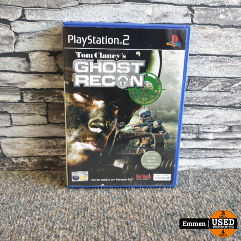 PS2 - Tom Clancy's Ghost Recon