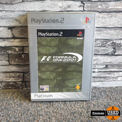 PS2 - Formula One 2001