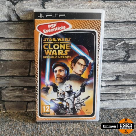 PSP - Star Wars The Clone Wars - Republic Heroes
