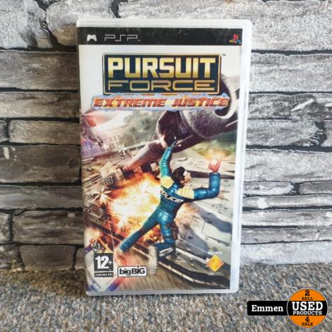 PSP - Pursuit Force - Extreme Justice