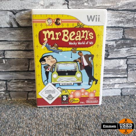 Wii - Mr. Bean's Wacky World of Wii