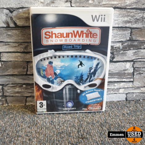 Wii - Shaun White Snowboarding - Road Trip