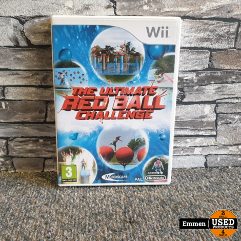Wii - The Ultimate Red Ball Challenge