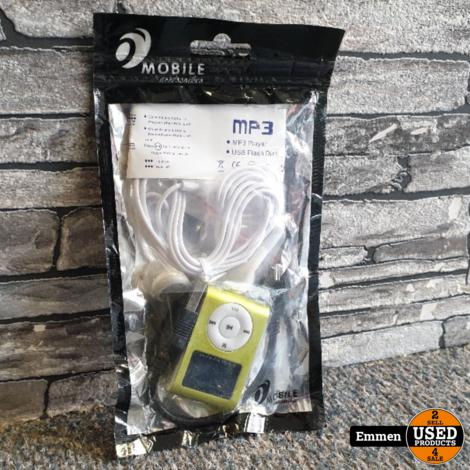 MP3 Speler Classic - Geel (Nieuw)
