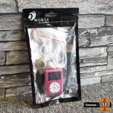 MP3 Speler Classic - Roze (Nieuw)