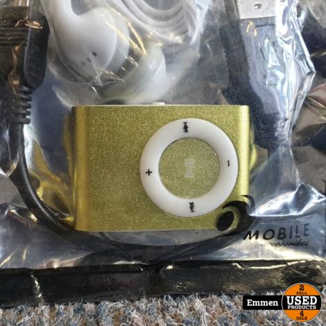 MP3 Speler Shuffle - Geel (Nieuw)