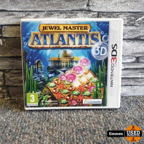 3DS - Jewel Master - Atlantis 3D