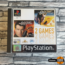 PS1 - 007 Tomorrow Never Dies + The World is Not Enough