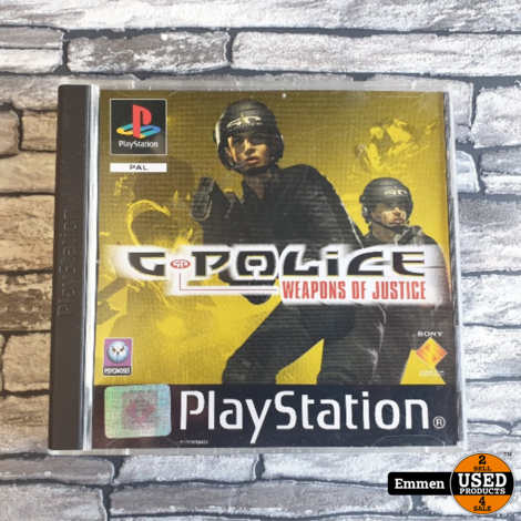PS1 - G-Police - Weapons Of Justice