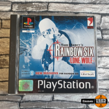 PS1 - Tom Clancy's Rainbow Six Lone Wolf