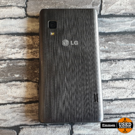 LG optimus L5 II - Zwart (LG-E460)