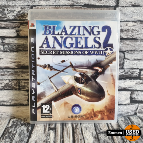 PS3 - Blazing Angels 2 - Secret Missions of WWII