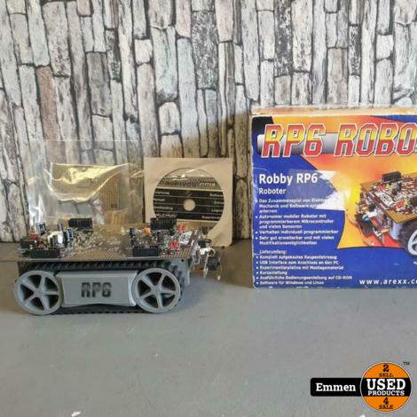 RP6 Robot System Robby RP6 - Autonome Robot Kit