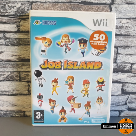 Wii - Job Island - Nintendo Wii Game