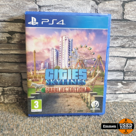 PS4 - Cities Skylines - Parklife Edition
