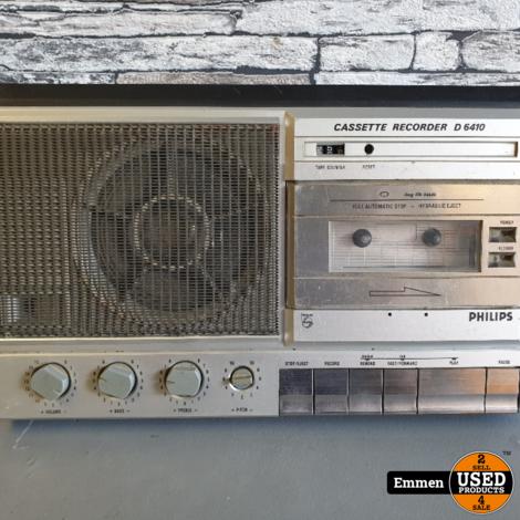Philips D 6410 - Vintage Cassette Recorder
