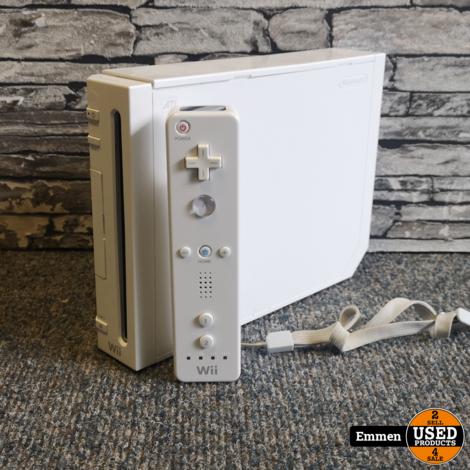 Nintendo Wii - Wit + 1 Controller