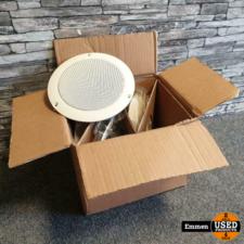 TOA PC-646R - 9 Watt Plafond Speaker (4 stuks)