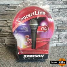 Samson Q4 - Concertline Microfoon (Nieuw)