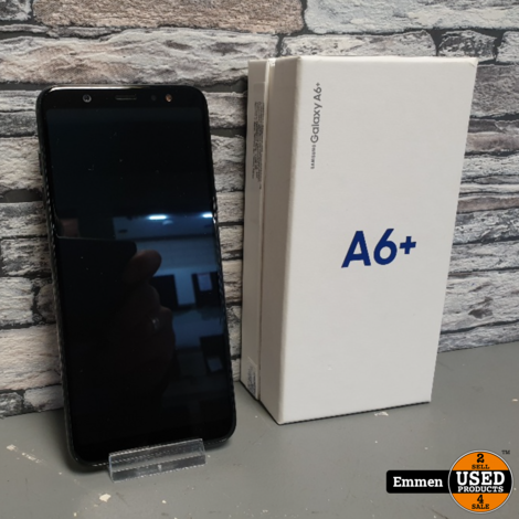 Samsung Galaxy A6+ 32 GB Zwart