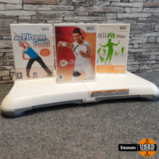 Nintendo Wii Balanceboard + 3 Games