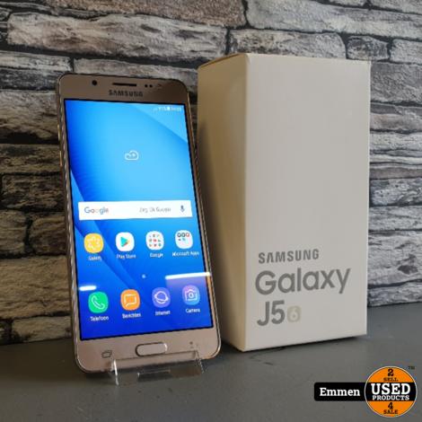 Samsung Galaxy J5 (2016) - Goud
