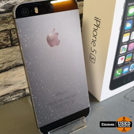 Apple iPhone 5s - 16 GB Zwart met Barstje