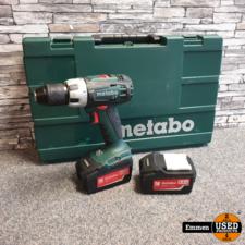 Metabo BS 18 LT - 18v - 5.2Ah (2 Accu's)
