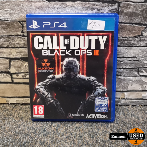 PS4 - Call of Duty Black Ops III