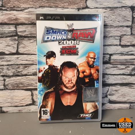 PSP - Smack Down vs Raw 2008