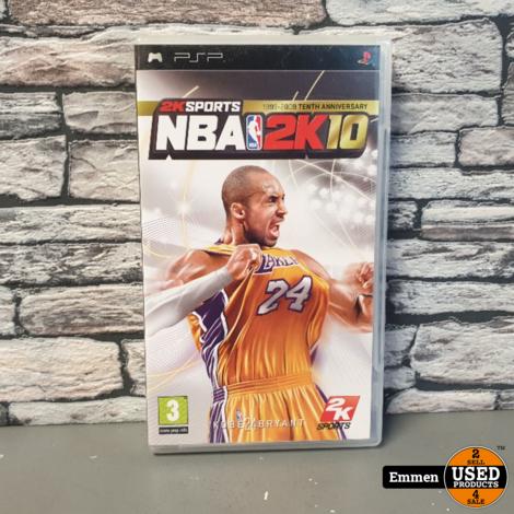 PSP - NBA 2K10