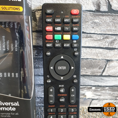 TMC Smart TV - Netflix + You Tube Universele Afstandsbediening (NIEUW)
