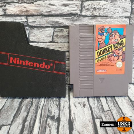 NES - Donkey Kong Classics - Nintendo NES Game