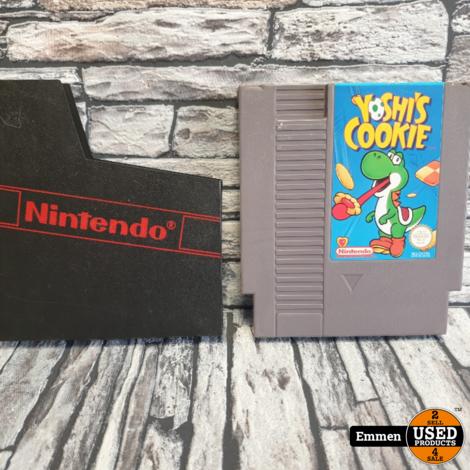 NES - Yoshi's Cookie - Nintendo NES Game