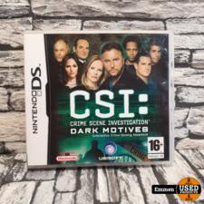 DS - C.S.I. Dark Motives - Nintendo DS Game