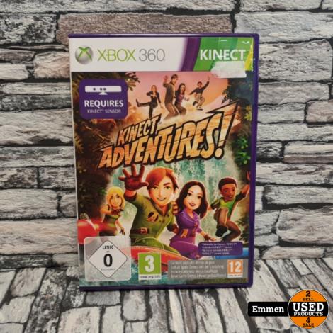 XBOX360 - Kinect Adventures! - XBOX 360 Game