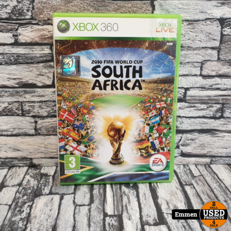 XBOX360 - 2010 FIFA World Cup South Africa