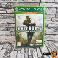 XBOX360 - Call of Duty 4 - Modern Warfare
