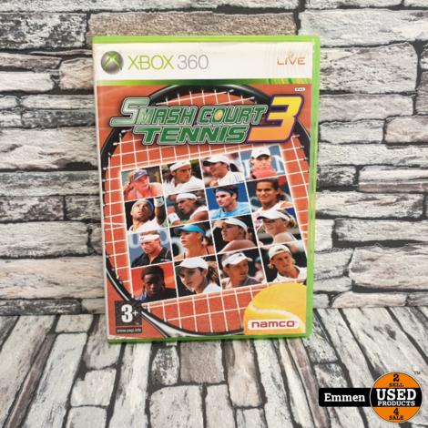 XBOX360 - Smash Court Tennis 3