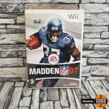Wii - Madden NFL 07 - Nintendo Wii Game