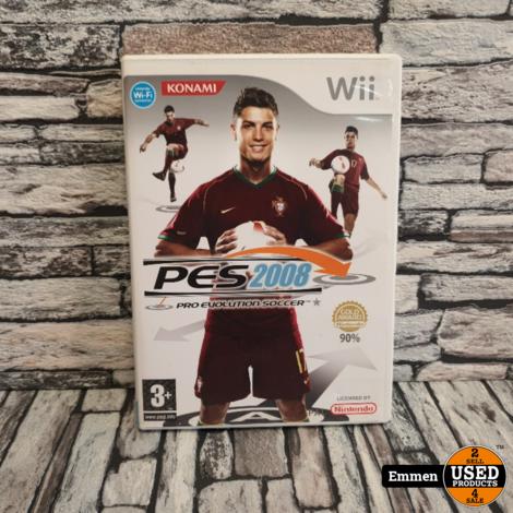 Wii - PES 2008 - Pro Evolution Soccer 2008